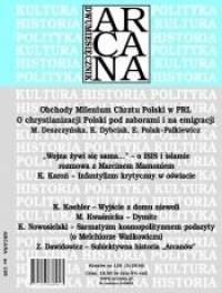 ARCANA nr 129 (3)/2016 - okładka książki