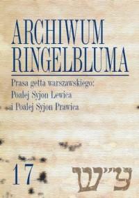 Archiwum Ringelbluma. Konspiracyjne - okładka książki