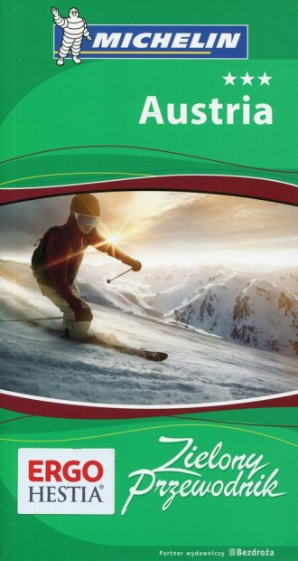Austria. Zielony przewodnik - okładka książki