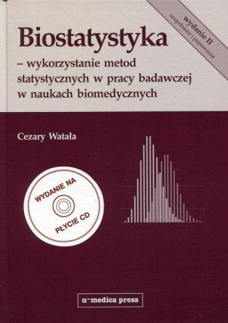 Biostatystyka. Wykorzystanie metod - okładka książki