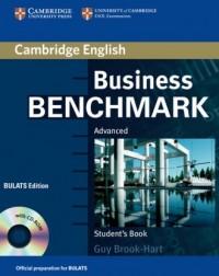 Business Benchmark. Advanced Students Book (+ CD) - okładka podręcznika