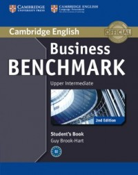Business Benchmark. Upper Intermediate Students Book - okładka podręcznika