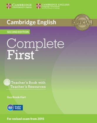 Complete First. Teachers Book with - okładka podręcznika