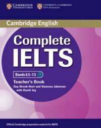 Complete IELTS Bands 6.5-7.5. Teachers Book - okładka podręcznika