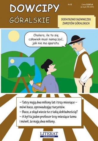 Dowcipy góralskie - okładka książki
