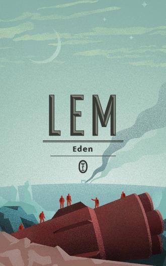Eden - okładka książki