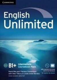 English Unlimited. Intermediate Coursebook with e-Portfolio DVD-ROM - okładka podręcznika