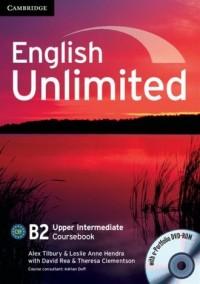 English Unlimited. Upper Intermediate Coursebook (+ DVD) - okładka podręcznika