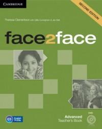 face2face. Advanced Teachers Book (+ DVD) - okładka podręcznika