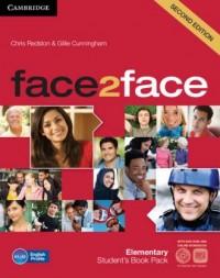 face2face. Elementary Students Book + Online workbook ( DVD) - okładka podręcznika
