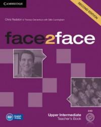 face2face. Upper Intermediate Teachers Book (+ DVD) - okładka podręcznika