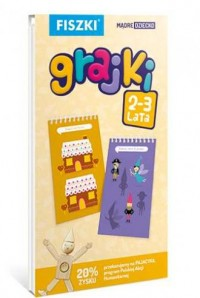 Fiszki. Grajki (wiek 2-3 lata) - okładka książki