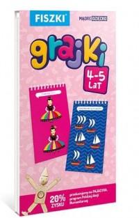 Fiszki. Grajki (wiek 4-5 lat) - okładka książki