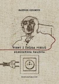 Formy i źródła poezji Aleksandra Galicza - okładka książki