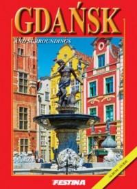 Gdańsk i okolice (wersja ang.) - okładka książki