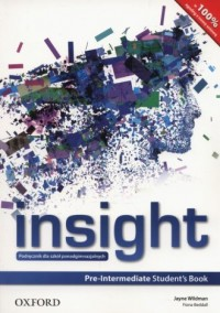 Insight. Pre-Intermediate Students Book - okładka podręcznika
