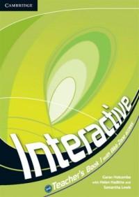 Interactive 1. Teachers Book - okładka podręcznika
