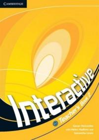 Interactive 2. Teachers Book - okładka podręcznika