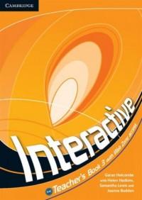 Interactive 3. Teachers Book with Web Zone - okładka podręcznika
