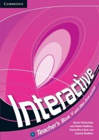 Interactive 4. Teachers Book with Web Zone access - okładka podręcznika