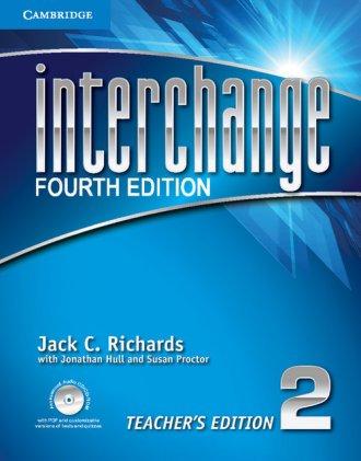 Interchange 2. Teachers Edition - okładka podręcznika