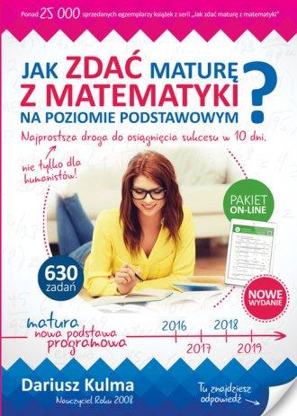 Jak zdać maturę z matematyki na - okładka podręcznika