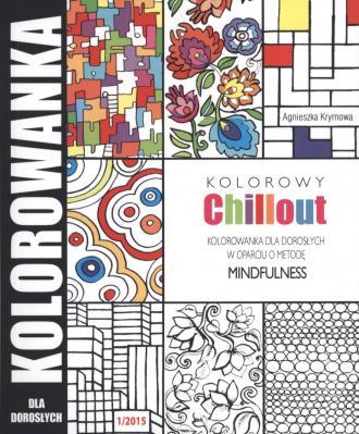 Kolorowy chillout. Kolorowanka - okładka książki