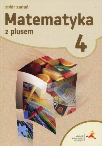 Matematyka z plusem 4. Klasa 4. - okładka podręcznika