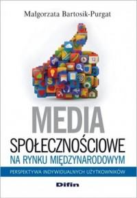 Media społecznościowe na rynku - okładka książki