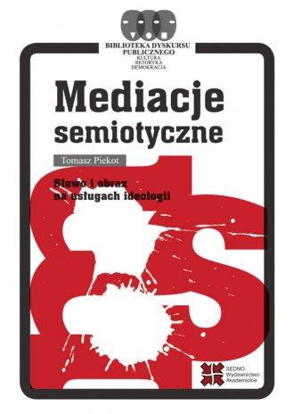 Mediacje semiotyczne - okładka książki