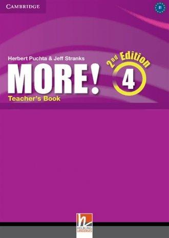 More! 4 Teachers Book - okładka podręcznika