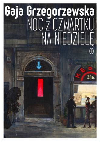 Noc z czwartku na niedzielę - okładka książki