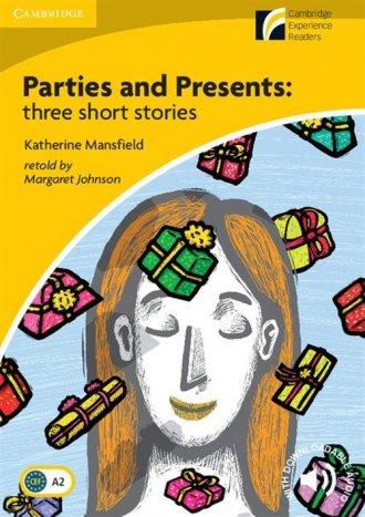 Parties and Presents: Three Short - okładka podręcznika