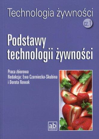 Podstawy technologii żywności - okładka podręcznika