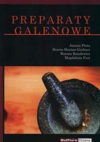 Preparaty galenowe - okładka książki
