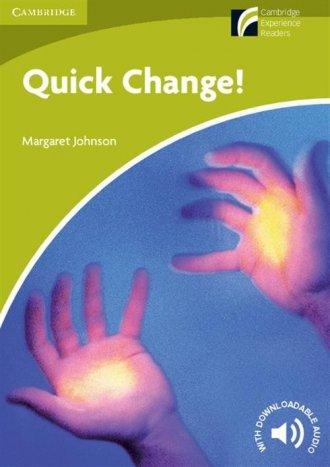 Quick Change! - okładka podręcznika