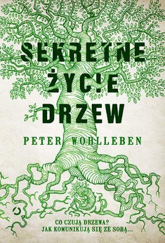 Sekretne życie drzew - okładka książki