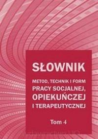 Słownik metod, technik i form pracy - okładka książki