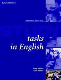 Study Tasks in English. Students book - okładka podręcznika