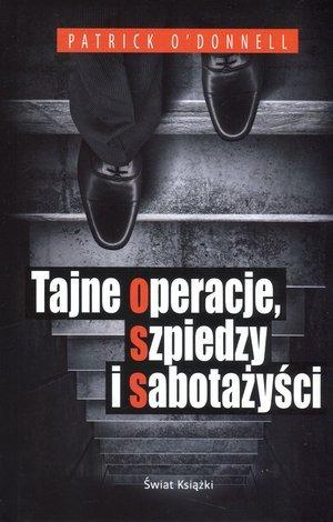 Tajne operacje, szpiedzy i sabotażyści - okładka książki