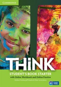 Think Starter. Students Book with - okładka podręcznika