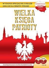 Wielka księga patrioty (+ 2 CD) - okładka książki
