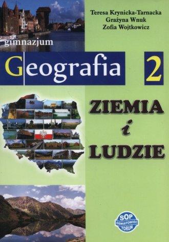 Ziemia i ludzie. Geografia. Klasa - okładka podręcznika