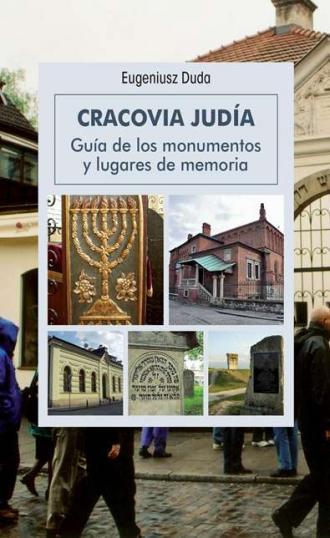 Żydowski Kraków (wersja hiszp.) - okładka książki