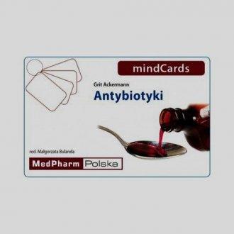 Antybiotyki mindCards - okładka książki