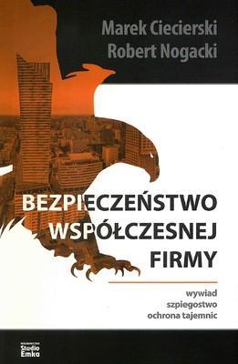 Bezpieczeństwo współczesnej firmy. - okładka książki