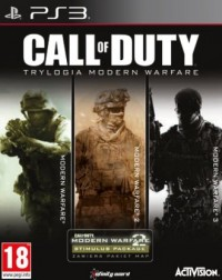 Call Of Duty. Modern Warfare Trilogy (PS3) - pudełko programu