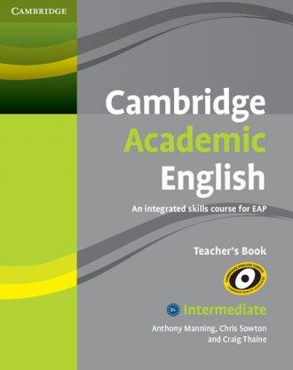 Cambridge Academic English. B1 - okładka podręcznika