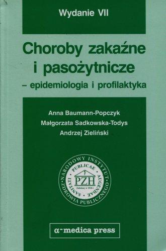Choroby zakaźne i pasożytnicze - okładka książki