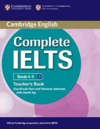 Complete IELTS. Bands 4-5. Teachers Book - okładka podręcznika
